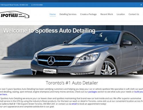 Spotless Auto Detailing