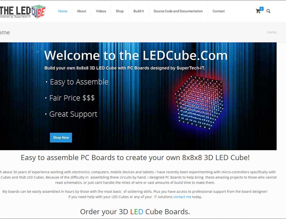 The LED Cube