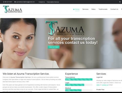 Azuma Transcription Service